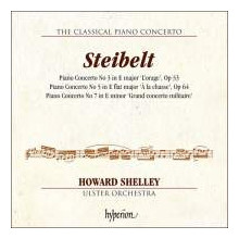 STEIBELT: The Classical Piano Concerto - Vol.2