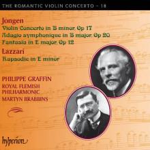Jongen: The Romantic Violin Conc - Vol.18