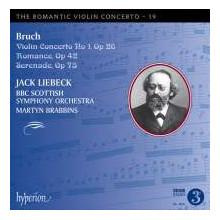 BRUCH: Romantic Violin Concerto Vol.19