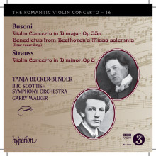 BUSONI:Romantic Violin Concerto Vol.16