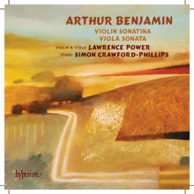 BENJAMIN A.:Violin Sonatina - Viola Sonata