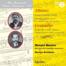 ALBENIZ - GRANADOS: Romantic piano Vol.654