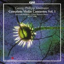 TELEMANN: Concerti per violino Vol.1