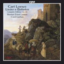 LOEWE: Lieder & Balladen Vol.21