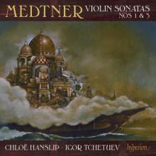 MEDTNER: Sonate per violino NN.1 & 3