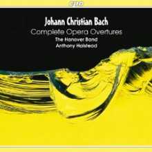 BACH J.C.: Complete Opera Overtures(3CD)