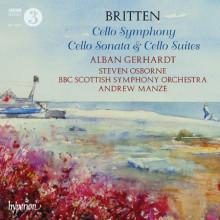 BRITTEN: Cello Symphony - Cello Sonata....