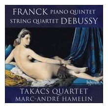 FRANK:Quintetto M7 - DEBUSSY:Quartetto L91