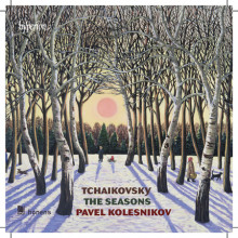 CIAIKOVSKY: Les saisons - Six morceaux