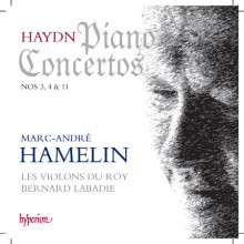 HAYDN: Concerti per piano NN.3 - 4 & 11