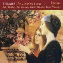 STRAUSS: Integrale dei Lieder Vol.7