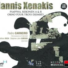 XENAKIS:Psappha - Rebonds A&B - Okho pour...