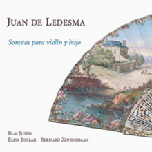 LEDESMA JUAN: Sonatas para violin y bajo