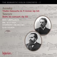 ARENSKY - TANAYEV: Concerti per violino