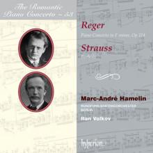 Concerti per piano Vol.53 - Reger - Strauss