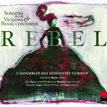 REBEL: Sonate per violino e b.c.