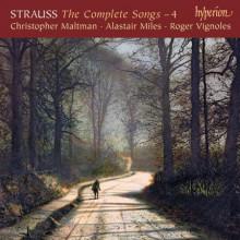 STRAUSS: Integrale dei Lieder Vol.4