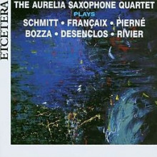 A.V.: Quartetti francesi per sax