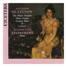 GLAZUNOV: Sonate per piano N.1 - 2