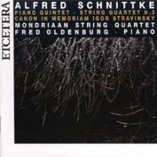 SCHNITTKE: Quintetti per piano