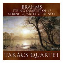 BRAHMS: Quartetti Op.67 & Op.51 - N.1