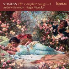Strauss: Integrale Dei Lieder Vol.3