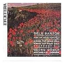 BARTOK: Rapsodia N.2 per violino e piano