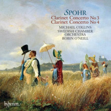 SPOHR: Concerti per clarinetto N.3 e N.4