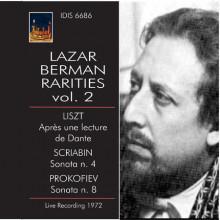 LAZAR BERMAN RARITIES: Liszt - Scriabin...