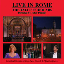 PALESTRINA - ALLEGRI: LIVE IN ROME