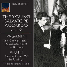 THE YOUNG ACCARDO: Paganini - Viotti