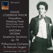 SIR M.SARGENT dirige Coleridge - Taylor