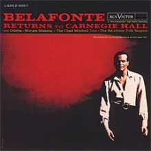 BELAFONTE: Returns to Carnegie Hall