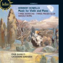 HOWELLS: MUSICA PER VIOLINO E PIANO