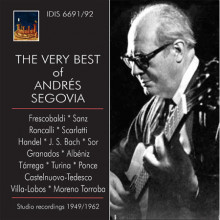The very best of Andres Segovia