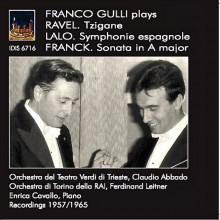 FRANCO GULLI suona Ravel - Lalo - Franck