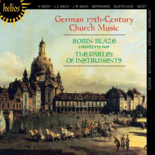 A.V.:Musica da chiesa tedesca del XVII sec.