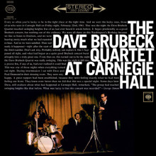 DAVE BRUBECK: Dave Brubeck Quartet at Carnegie Hall