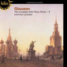 GLAZUNOV: OPERE PER SOLO PIANO VOL.4