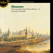 GLAZUNOV: OPERE PER SOLO PIANO VOL.2