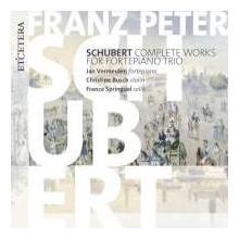 Schubert:opere X Fortepiano Trio - Integr.