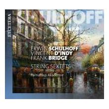 SCHULHOFF - D'INDY - BRIDGE: String Sextet
