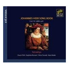 HEER JOHANNES: Song Book - Cod.St.Gallen
