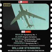 Steinberg Dirige Strauss - Mahler - Elgar