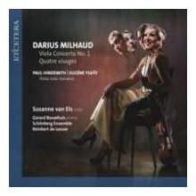 Milhaud: Viola Concerto N.1 - Hindemith
