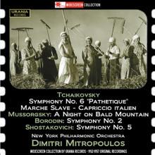 MITROPOULOS dirige CIAIKOVSKY - Borodin