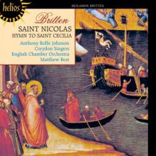BRITTEN:Saint Nicolas - Hymn to St Cecilia