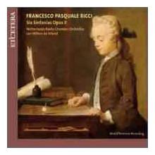RICCI F.P.: Sei Sinfonie Opus II