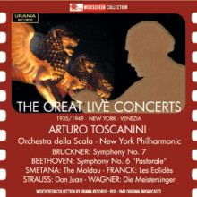 Toscanini:the Great Live Concert 1935 - 49