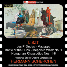 LISZT: Opere per orchestra (H.Scherchen)